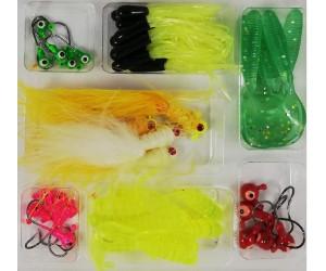 Силикони за риболов на спининиг - комплект