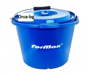 Кофа за риболов с капак - Formax Blue