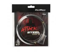 Метален повод + кримпове за щука FORMAX ATTACK
