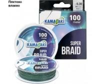 4 нишково плетено влакно за риболов - KAMASAKI SUPER 4 X