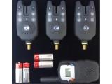 Сигнализатори за шаранджийски риболов - комплект 3+1
