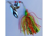 Блесна за риболов на щука, сом, костур - спинер SPINNER BAIT RAINBOW