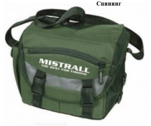 Чанта за спининг риболов - MISTRALL FISHING SPINNING