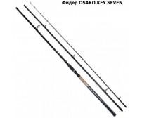 Фидер за риболов - карбонов OSAKO TITAN KEY SEVEN FEEDER 80 g 120 g