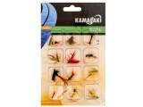 Комплект мухи за риболов с мухарка - KAMASAKI FLY SET