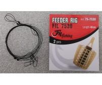 Монтаж за шаранджийски риболов с фидер хранилка - FILEX FEEDER RIG 2
