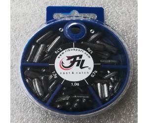 Олово за риболов кутия - продълговато FILEX