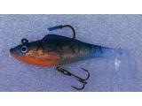 Силиконова рибка за риболов на щука и костур - BLUE