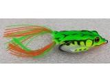 Силиконова жаба за риболов - DANCER GREEN